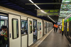 Subway in Barcelona Stock Photography