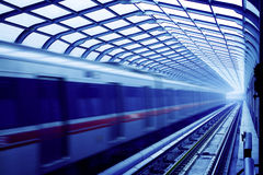 Subway in beijing china Royalty Free Stock Image