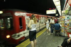 Subway in Buenos Aires Stock Images