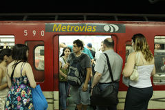 Subway in Buenos Aires Royalty Free Stock Image