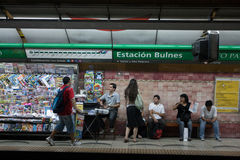 Subway in Buenos Aires, Argentina. Stock Photography