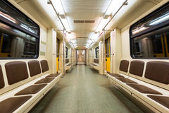 Subway car Stock Image