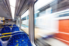 Subway carriages Royalty Free Stock Photography