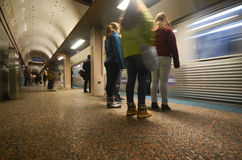 Subway in Chicago Stock Images