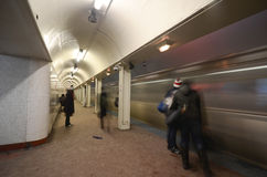 Subway in Chicago Royalty Free Stock Photography