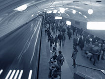 Subway Crowd Royalty Free Stock Photography