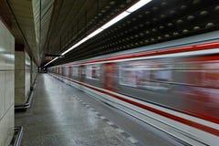 Subway departure Stock Photo