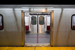 Subway Doors Open Stock Photos