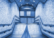 Subway entrance Royalty Free Stock Images