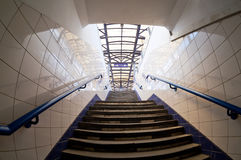 Subway exit. Royalty Free Stock Images