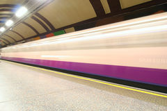 Subway Ghost Stock Photography