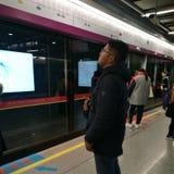Subway in guangzhou stock photos