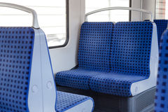 Subway in Hamburg. Subway coach in Hamburg, Germany Royalty Free Stock Image