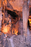 Subway inside Luray Caves Royalty Free Stock Photo