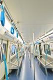 Subway interior Stock Images