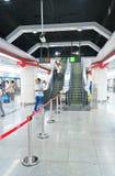 Subway interior Royalty Free Stock Photo