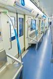 Subway interior Royalty Free Stock Image