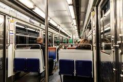 Subway interior Stock Photography