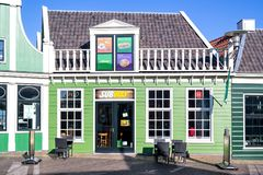 Subway fast food restaurant in Zaandam, Netherlands Royalty Free Stock Photography