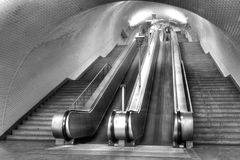 Subway of Lisboa Royalty Free Stock Images