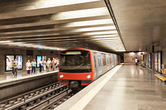 Subway in LIsbon Stock Photos