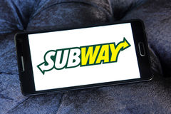Subway logo Royalty Free Stock Images