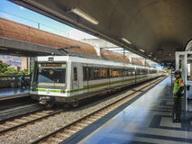 Subway of Medellin Colombia Stock Photo