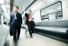 Subway motion Stock Image
