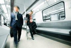 Subway motion Stock Image