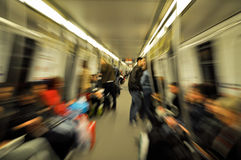 Subway motion Stock Images