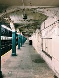 Subway in New-York City Stock Photos