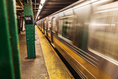 Subway in New York City Royalty Free Stock Photo