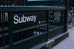 Subway - NYC Royalty Free Stock Image