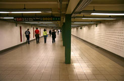Subway passage Royalty Free Stock Photography