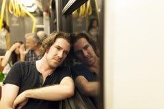 Subway Passanger Stock Photography