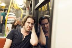 Subway Passanger Royalty Free Stock Image