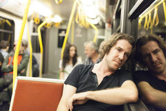 Subway Passanger Stock Images