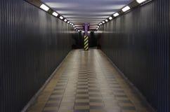 Subway. Pedestrian subway underground in London stock photo