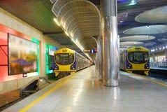 Subway platform stock photos
