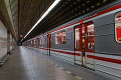 Subway of Prague Royalty Free Stock Photo