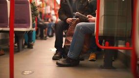 Subway public transport wagon.