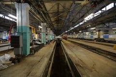 Subway repair depot Stock Photos