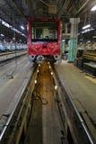 Subway repair depot Stock Image