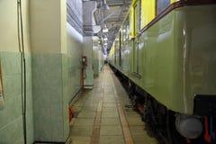 Subway repair depot Royalty Free Stock Images