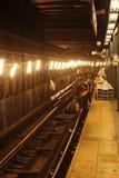 New York City Subway Repairs Stock Images