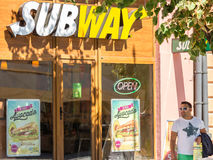 Subway Restaurant Royalty Free Stock Images