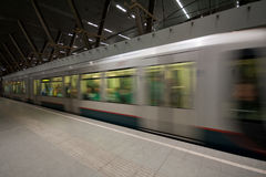 Subway in Rotterdam. Subway, underground, in Rotterdam, The Netherlands Stock Photo