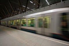 Subway in Rotterdam Stock Photo