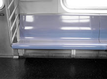 Subway Seat Royalty Free Stock Images