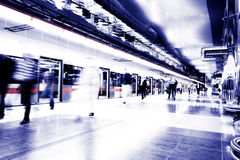 Subway speeding by Stock Photography